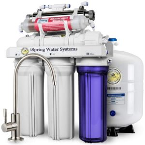 iSpring RCC7AK-UV Reverse Osmosis Water Filter image
