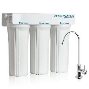 APEC WFS-1000 3 Stage Under-Sink Water Filtration System - best water filter for home (under-sink)