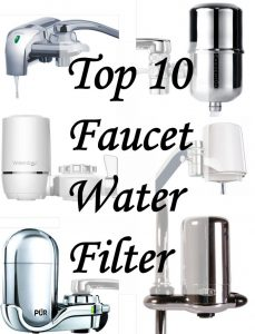 Top 10 best faucet water filter image