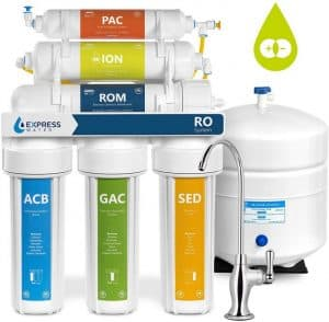 Express Water RODI10D Deionization Reverse Osmosis Water Filter