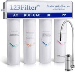 iSpring CU-A4 Ultrafiltration Water System