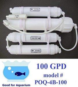 0PPM POQ-4B-100 Countertop Reverse Osmosis+Deionization System