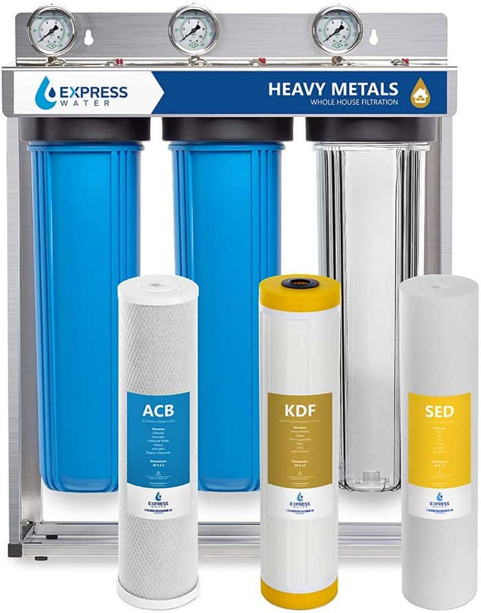 1. Express Water Heavy Metal Whole House Water Filter [Review] - Best Overall image