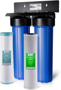 iSpring WGB22BM 2-Stage [Review] - Best Whole House Water Filter for Well Water (Budget)