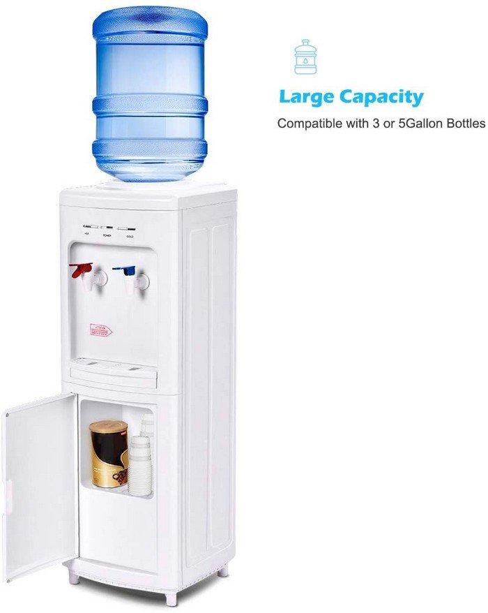 COSTWAY Top Loading Water Cooler Dispenser Image