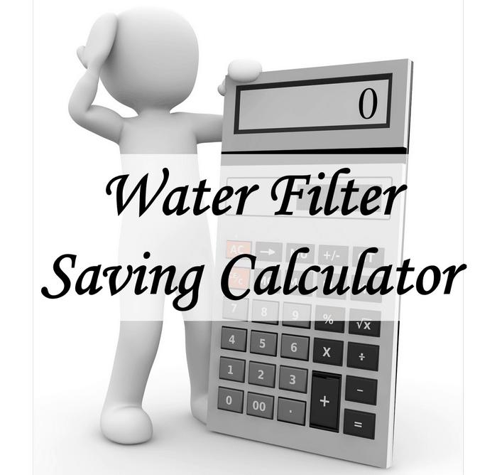 Water Filter Saving Calculator image