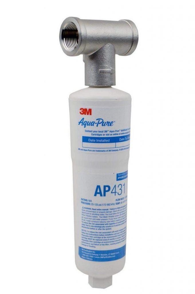4. 3M Aqua-Pure Whole House Scale Inhibition Inline Water System AP430SS - Best Inline Descaler image