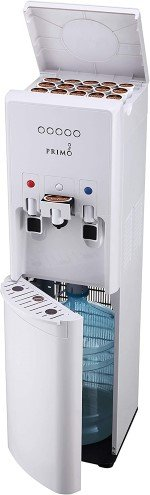 4. Primo hTRiO Water Cooler (White) with Single Serve Brewing - Best Water Dispenser with K-Cup image