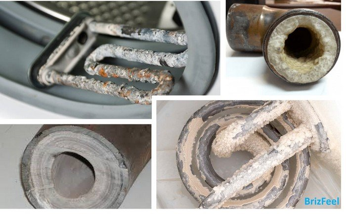 limescale effects on pipes and appliances image