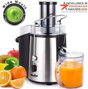 3. Mueller Austria Juice Ultra Centrifugal Juicer Review - Best Centrifugal Juicer for Celery Juice by BrizFeel