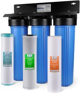 1. iSpring WGB32BM 3-Stage Whole House Water Filtration System image