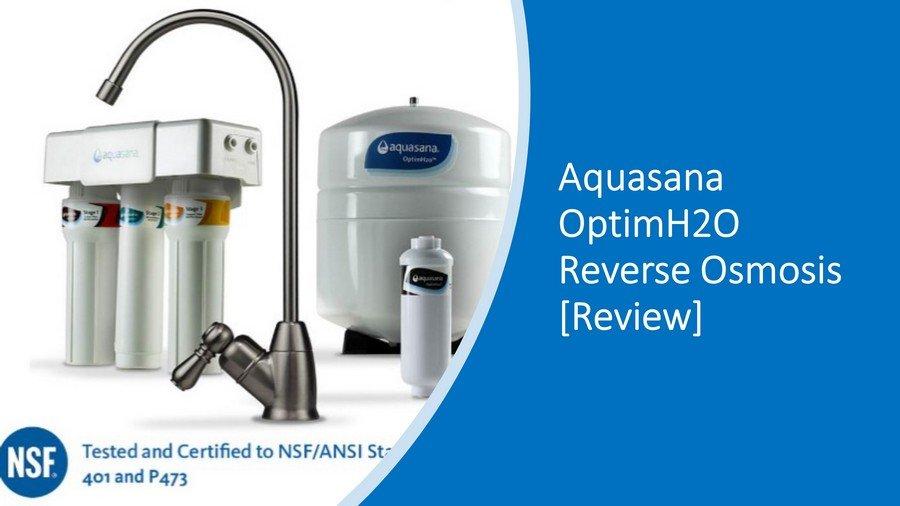 Aquasana OptimH2O RO Review 2020 Images