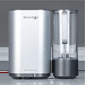Waterdrop M5 Reverse Osmosis Systen with a Water Pitcher Image