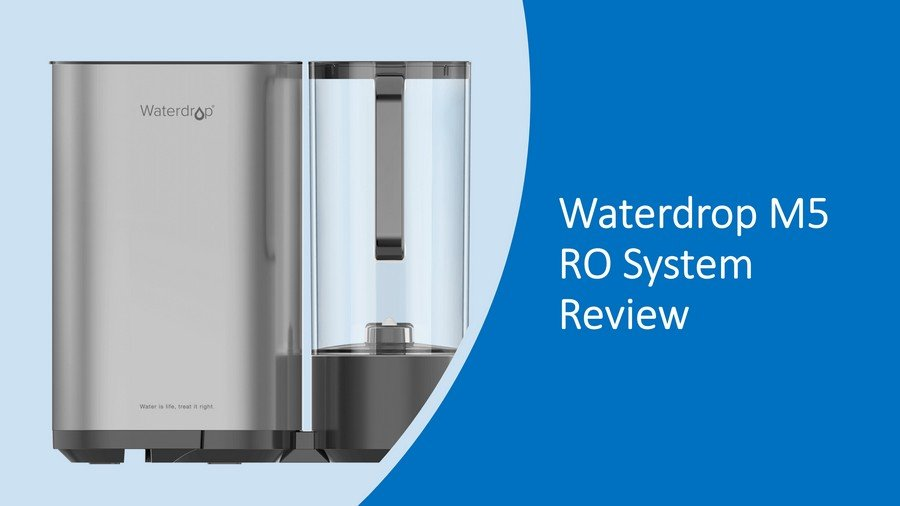 Waterdrop M5 RO System Review 2020: Countertop Reverse Osmosis System + Water Pitcher image
