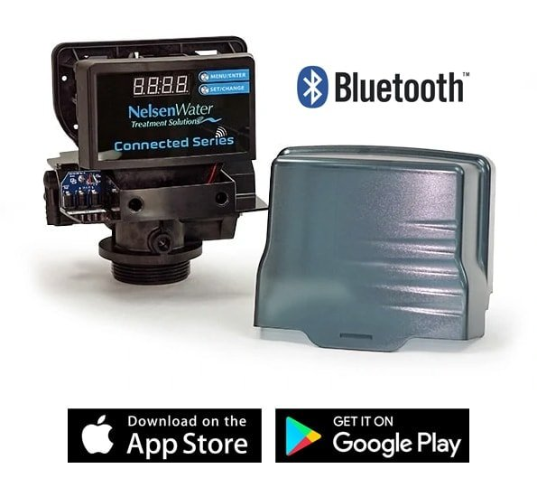 Bluetooth Control Head of SpringWell Salt-based Water Softener SS Model