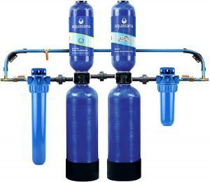 4. Aquasana Rhino Whole House Water Filter with Salt-Free Conditioner Review image