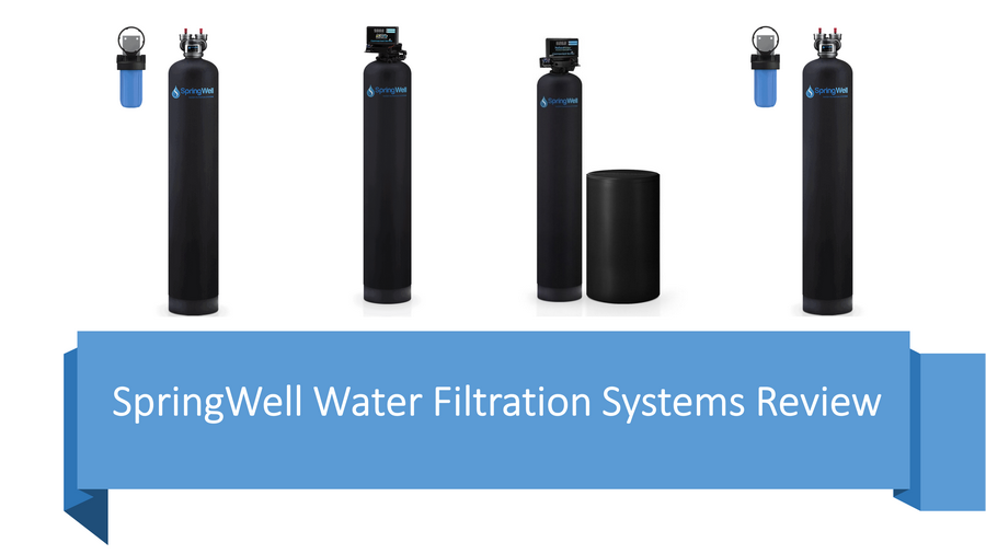 SpringWell Water Filtration Systems Review + Comparison image
