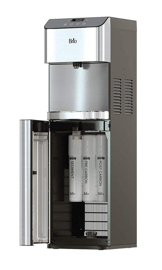 3. Best Bottleless Water Cooler - Brio Moderna Bottleless Water Cooler  CLPOU720UVF3 [Review] Image