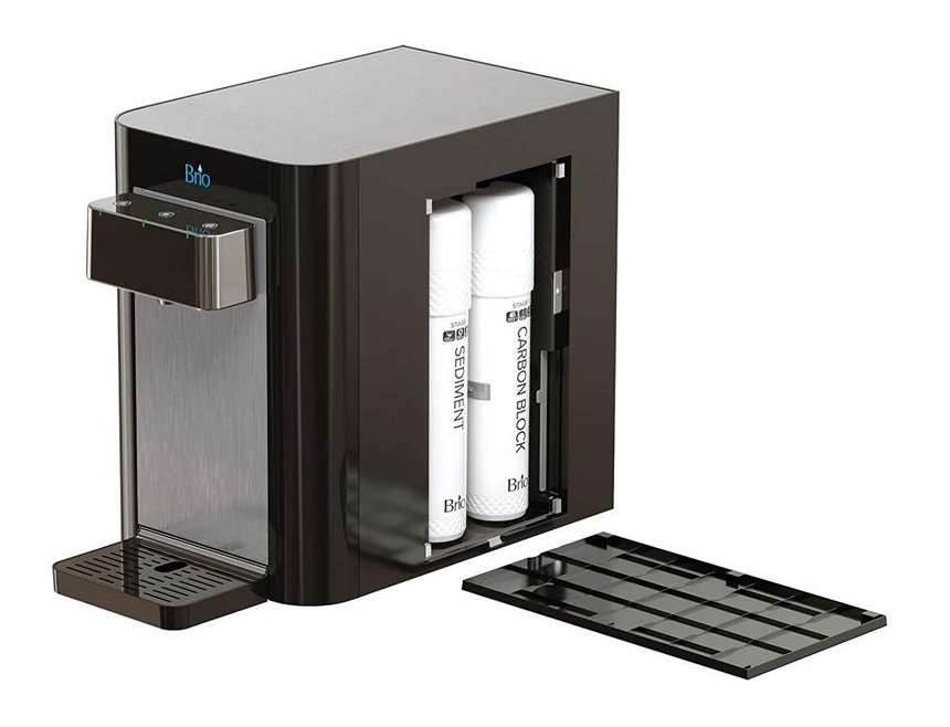 A concealed water filtration system image