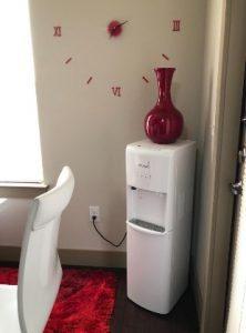 Primo White Bottom Loading Water Dispenser Image
