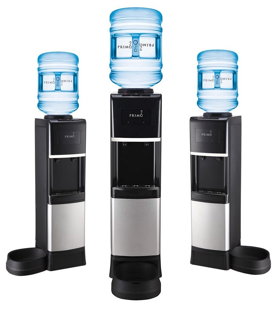 Primo Water Dispenser with a Pet Station Pet Bowl Image